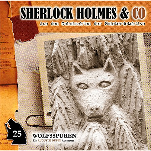Wolfsspuren audiobook cover art
