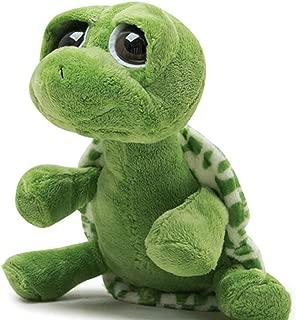 YunNasi Big Eyed Stuffed Animals Turtle Stuffed Animals Pillow Toy Cute Big-Eyed Turtle Great Gift for Girls Kids (10''/25CM)