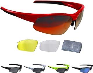 Bbb Cycling Bsg-58 BBB-Gafas de Ciclismo para Hombre y Mujer (policarbonato), Unisex Adulto
