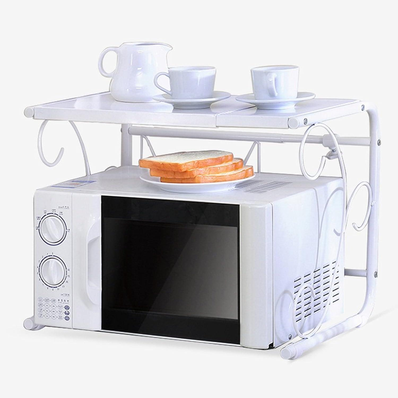PeaceipUS Kitchen Shelves, Retractable Kitchen Utensils Oven Shelves Metal Storage Shelves 40-60  36  40cm