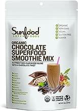 Sunfood Superfoods Chocolate Superfood Smoothie Mix- Organic. 8 oz Bag