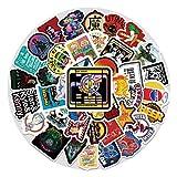 100 marea marca graffiti pegatinas maleta refrigerador motocicleta skate superficie coche casco decoración pegatinas