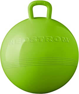 Hedstrom Green Hopper Ball, Kid's Ride-on Toy, Bouncy Hopping Ball with Handle - 15 Inch