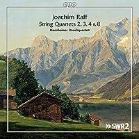 ヨアヒム・ラフ:弦楽四重奏曲集 [2CDs]