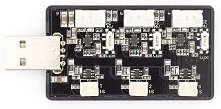 KINGDUO Emax Tinyhawks Pièce De Rechange 3 Voies 1-2S Lipo Chargeur De Batterie Port USB pour Rc Drone FPV Racing