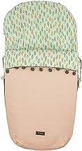 Rosy Fuentes - Saco para silla de paseo - 10 x 48 x 88 cm - Funda Silla Paseo Universal - Resistente y Duradero - Saco de Capazo - Ajuste Perfecto - Color Rosa Empolvado