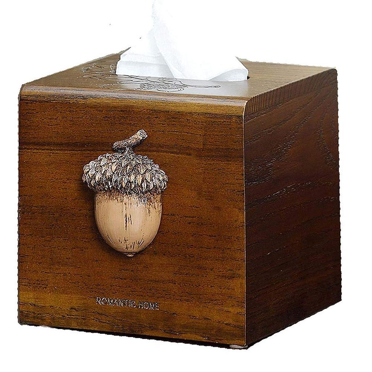 手数料あいまい石鹸ティッシュケース ティッシュボックス、アメリカのミニマリストレトロスクエア品質の木製ティッシュボックスホームオフィス車のティッシュボックス、スタイリッシュで美しいです
