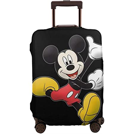 Lxj1994 Stylish Travel Luggage Cover with Winnie The Pooh Travel Suitcase Protector Elastic Dustproof Fits 18-32 Inch Size