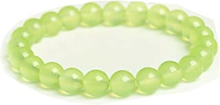 8MM Round Bead Bracelets Women Beaded Stretch Bracelets Natural Healing Pover Crystal Jewelry 7.1