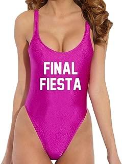 bachelorette party one piece bathing suits
