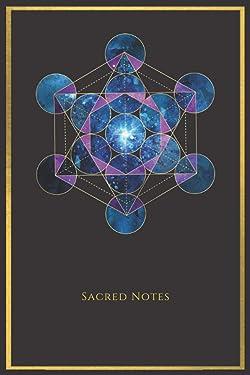 Metatron Notizbuch purple - heilige Geometrie - Sacred Notes Notizbuch - Journal   Planer   Tagebuch: 120 Seiten liniert   A5   Tolles Geschenk für ... und Gedanken festhalten (German Edition)