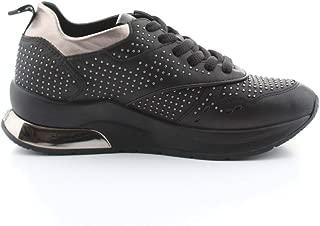 LIU JO Luxury Fashion Womens B69025P010222222 Black Sneakers | Fall Winter 19