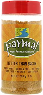 Parma! Vegan Parmesan - Better than Bacon, Dairy-Free and Gluten-Free Vegan Cheese (7 ounces)