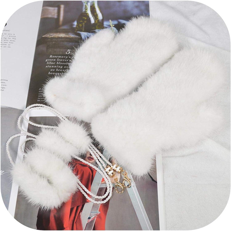 Outdoor Warm Soft Cheap SALE Start Women Real Bombing free shipping Mink Good Girls Knitted Gloves Fur