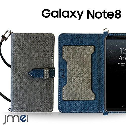 Galaxy Note 8 ケース手帳型 ギャラクシー ノート 8 カバー ブランド 手帳 閉じたまま通話ケース VESTA オレンジ Samsung サムスン SC-01K SCV37 simフリー スマホ カバー 携帯ケース 手帳型 スマホケース 全機