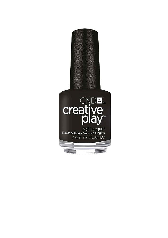 策定するキュービックマイクCND Creative Play Lacquer - Black + Forth - 0.46oz / 13.6ml