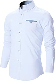ARDYN Casual Shirt for Men (White)