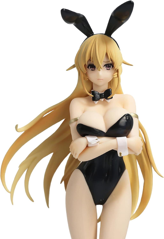 Food Wars! Shokugeki No Soma : Erina Nakiri - Bunny Girl Figure, Limited Ver. Otaku Favorite Collectible Adult Toy Gift (9.8 Inch)