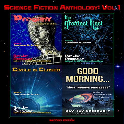 Science Fiction Anthology audiobook cover art