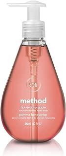 Method Gel Hand Soap, Honeycrisp Apple, 12 Fl Oz (Pack of 6)