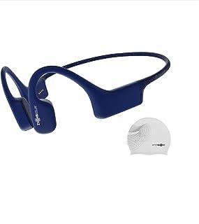 AfterShokz Xtrainerz 骨伝導 デジタルオーディオプレーヤー 4GB スポーツ用 IP68防水 外音取込み サファイアブルー AS700 AFTEP000017 水泳用mp3 耳かけ式