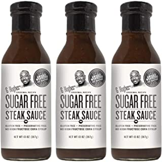 G Hughes Sugar Free Steak Sauce 13 oz (3 Pack)