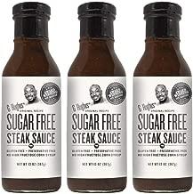 G Hughes Sugar Free Steak Sauce 13 oz (3 Pack)