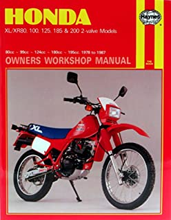 Haynes Honda XL/XR: 80, 100, 125, 185, 200cc 78-87 Repair Manual 566