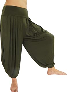 solid color harem pants