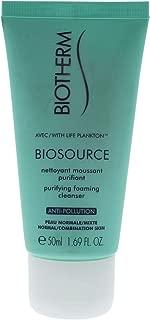 biotherm biosource fresh foam hydra toning cleanser