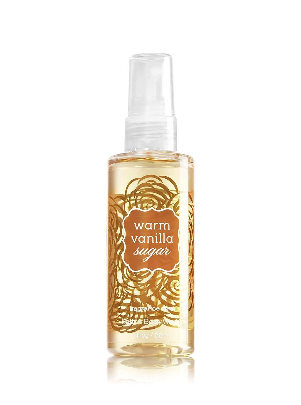 遮る顔料カートバス&ボディワークス ウォームバニラシュガー ファイン フレグランスミスト トラベルサイズ Warm Vanilla Sugar Fine Fragrance Mist Travel-Size[並行輸入品]