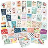 Sweetzer & Orange All Occasion Cards Assortment Box. Set of 100 Assorted Greeting Cards for All Occasions with Greeting Card Organizer Card Box. 17 Types of Note Cards incl Blank Cards with Envelopes