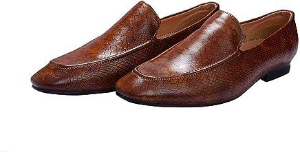 Hush Berry Crock SK Designer Formal Men Loafer Boots Shoes