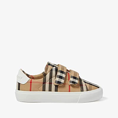 Burberry Kids Mini Markham Stripe (Toddler/Little Kid) (Archive Beige/White) Kid