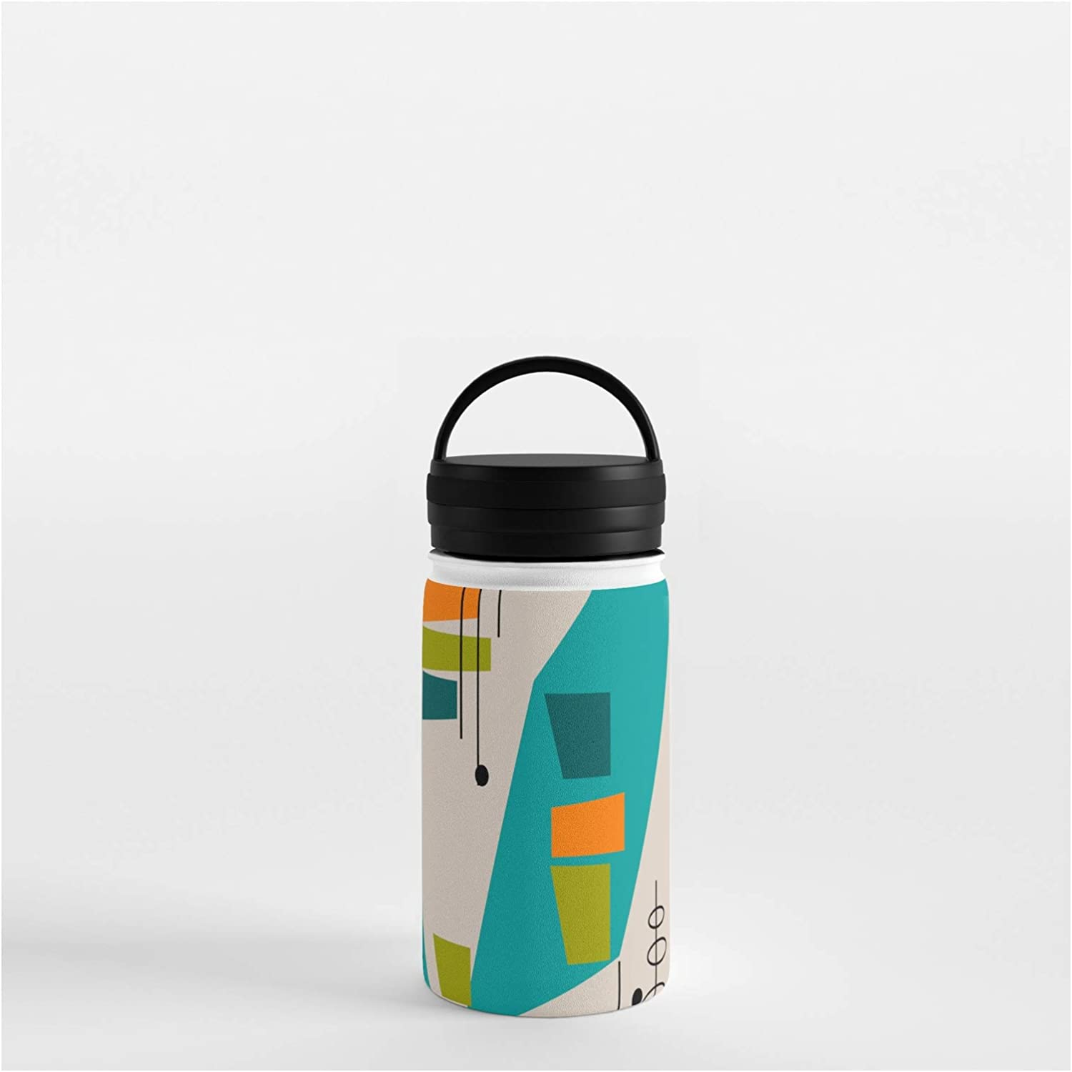 Society6 Mid-Century Max 45% OFF Modern Abstract by on Water Bottl Ranking TOP5 Kippygirl