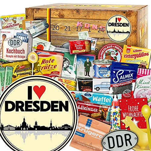 I love Dresden + Adventskalender DDR + Adventskalender für Onkel