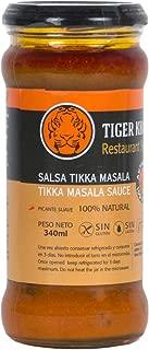 TIGER KHAN Salsa Asiática India Tikka Masala 340ml   Pack