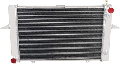 OzCoolingParts 2 Row Core Aluminum Radiator for 1998-2004 99 00 01 02 03 Volvo C70 V70 S70 2.3L 2.4L L5