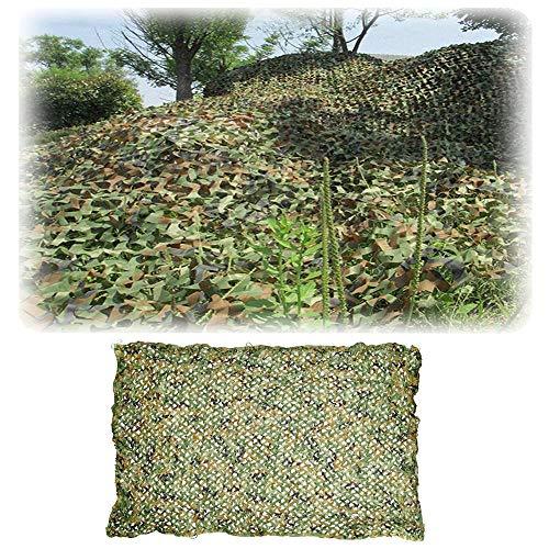 Yibcn 2x2m Redes De Camuflaje para Sombrillas, Army Jungle Red De Camuflaje Caza para Decoración, Protección Solar, Caza, Camping, Cubre Objetos