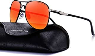 247a73286bb MERRY S Mens Driving Polarized Sunglasses Coating Lens Driving Shades S8712