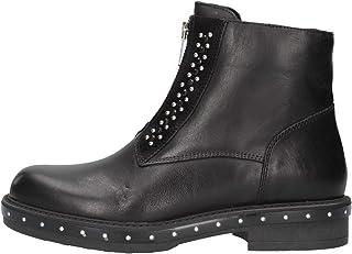 IGIeCO 4177600 Nero Polacchine Donna alla Caviglia Fashion
