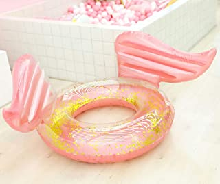 Inflatable Pool Float Ring, Funny Pool Party Swimming Floating Transparent Lounger for Summer Pool Party Fun