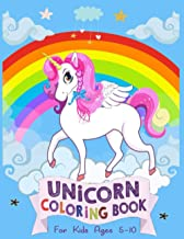 unicorn coloring book for kids ages 5-10: Super Edition 2021, Unicorn Coloring Book for Girls, 5 Year Old Birthday Gift fo...