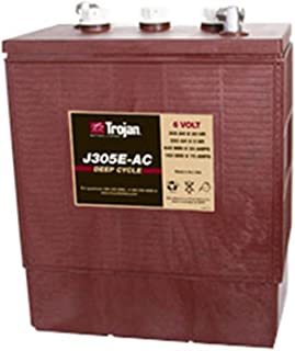 Trojan J305E-AC 6V 305Ah Flooded Lead Acid Deep Cycle Battery FAST USA SHIP