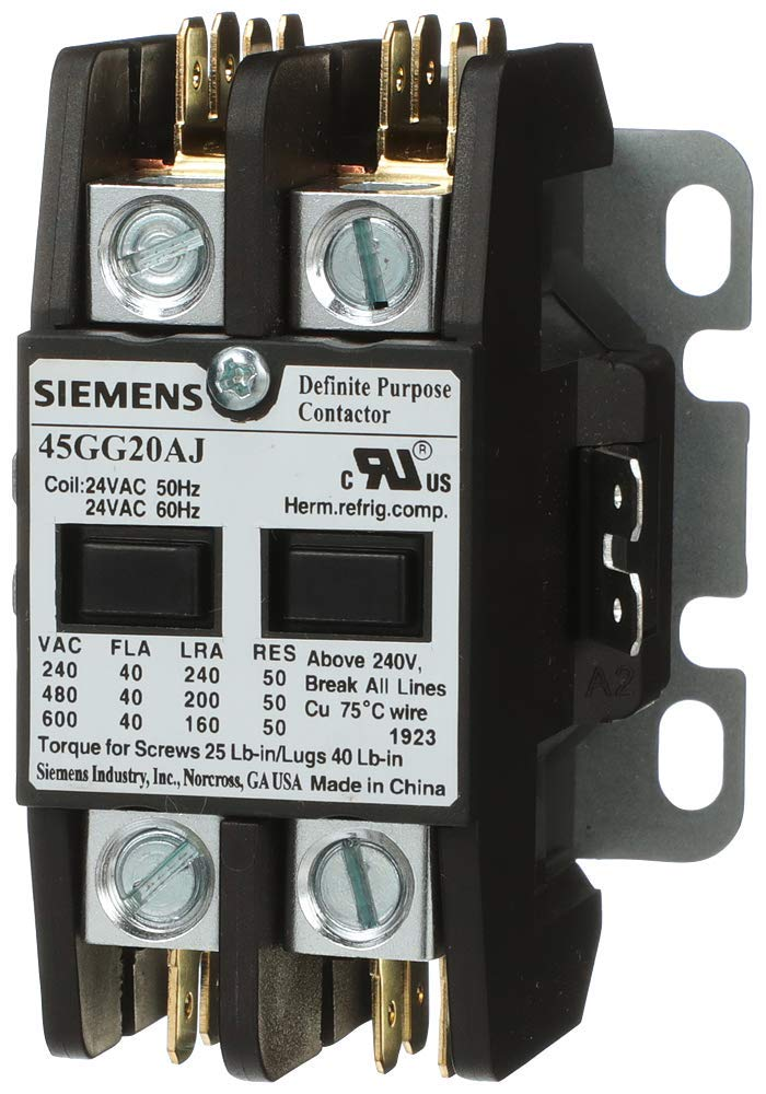 Siemens 45GG20AG Definite Purpose Contactor Amp Our shop OFFers the best service 40 208 100% quality warranty 2-Pole