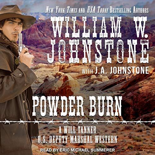 Powder Burn audiobook cover art
