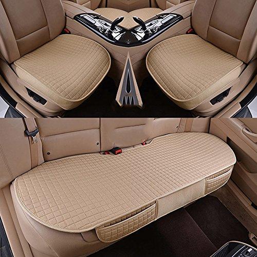 Han sui song Auto Sitzbezug Set, Auto Sitze Protector, 3Pcs, für Neue Polo,Golf,Golf Sportsvan,Golf Variant,Passat Variant,Neue T-ROC,Tiguan,Neue Tiguan Allspace,Touareg,Passat