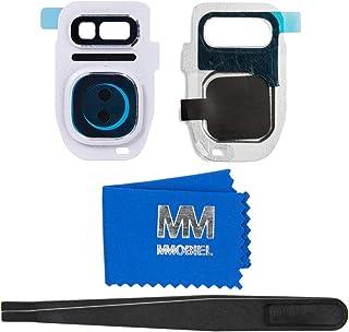 MMOBIEL Reemplazo Lente para Cámara Trasera Compatible con Samsung Galaxy S7 Edge G935 (Blanco) Incl. Pinzas y Limpiador