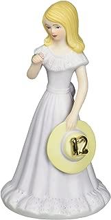 "Enesco Growing Up Girls ""Blonde Age 12"" Porcelain Figurine, 5.75"""