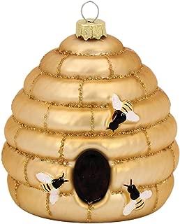 DEI Glass Beehive Ornament